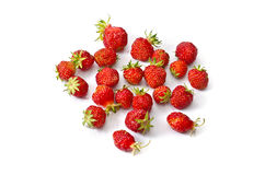 Strawberries. On a white background Royalty Free Stock Image