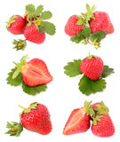 Strawberries. On a white background Stock Photo