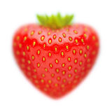 Strawberries on white background Stock Photography