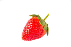 Strawberries on white background Royalty Free Stock Photo