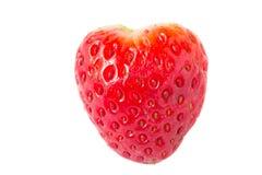 Strawberries on white background Stock Photos