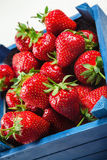 Strawberries On White Board Royalty Free Stock Image