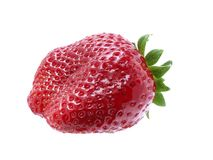 Strawberries on white two Stock Image