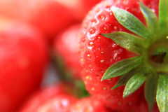 Strawberry. Red fresh Strawberry as a dessert Stock Photography
