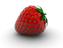 Strawberry. Isolated Royalty Free Stock Photos