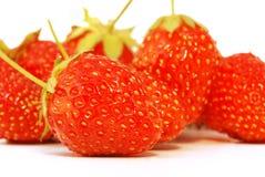 Strawberry. Isolated on  white background Royalty Free Stock Image
