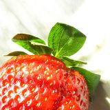 Strawberry. Fruits: strawberry stock photography