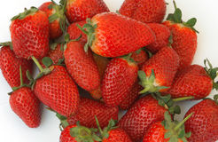 Strawberry. The many red, sweet and tasty strawberries Stock Image