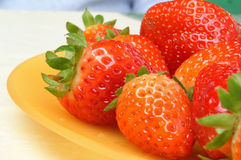 Strawberry. Sweet stawberry stock photos