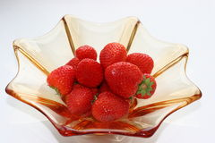 Strawberry 2. Strawberry in a vase Stock Photography