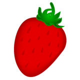 Strawberry. On white background illustration Stock Photo