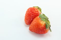 Strawberry. This is a strawberry called Sagahonoka which was produced in Saga Prefecture of Japan Stock Photography