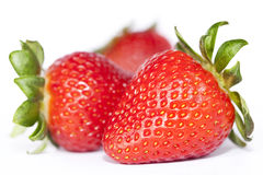 Strawberry. Set with selective focus Royalty Free Stock Photos