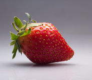Strawberry. Red Strawberry  on simple background Stock Photo