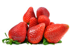 Strawberry. Isolated on white background Royalty Free Stock Photos