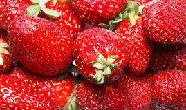 Strawberry. Red tasty sweet strawberry closeup Royalty Free Stock Photo