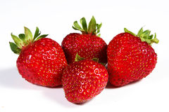Strawberry. S on a white background Royalty Free Stock Image