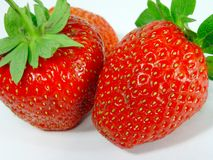 Strawberry. Details Stock Image