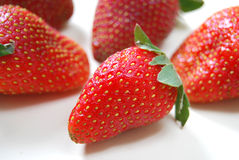 Strawberry. A Healthy Red Fresh Strawberry stock photography