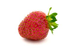 Strawberry. Isolated strawberry Stock Photos