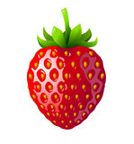 Strawberry stock illustration