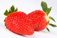 Strawberry. Very fresh and red strawberry royalty free stock photos