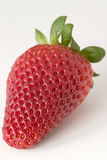 Strawberry. A strawberry with a little bit of green stock photography