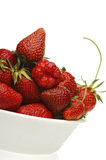 Strawberry. Strawberries on white Royalty Free Stock Image