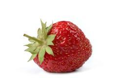Strawberry. Ripe strawberry against white background Stock Photography