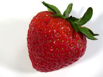 Strawberry. This is a detailed close-up of a strawberry royalty free stock photography