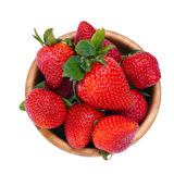 Strawberry from above stock images