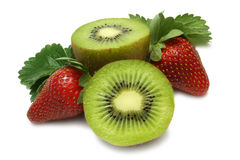 Free Strawberry And Kiwi Stock Images - 6431784