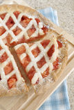 Strawberry and Apple Pie Royalty Free Stock Images