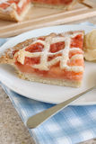 Strawberry and Apple Tart Royalty Free Stock Image