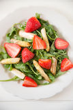 Strawberry Asparagus Salad Stock Photos