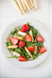 Strawberry Asparagus Salad Stock Photography