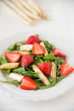Strawberry Asparagus Salad Royalty Free Stock Image