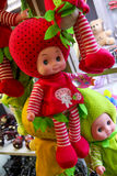 Strawberry baby doll Stock Image