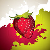 Strawberry background. Royalty Free Stock Photos