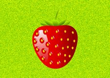 Strawberry on a background Royalty Free Stock Photos