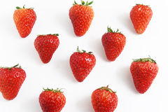 Strawberry background Stock Photography