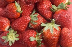 Strawberry background Royalty Free Stock Photos