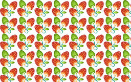 Strawberry Background Design Texture Stock Photos