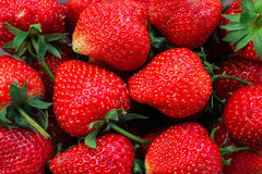 Strawberry background Stock Photo