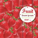 Strawberry Background. Strawberry seamless pattern ornamental concept illustration,fruits texture whit space for text Royalty Free Stock Photos