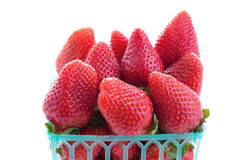 Strawberry in a basket Stock Image
