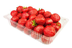 Strawberry in a basket Royalty Free Stock Photography