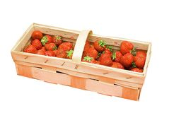 Strawberry basket Stock Photo