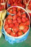 Strawberry Basket Stock Photo