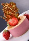 Strawberry bavarian Stock Photos